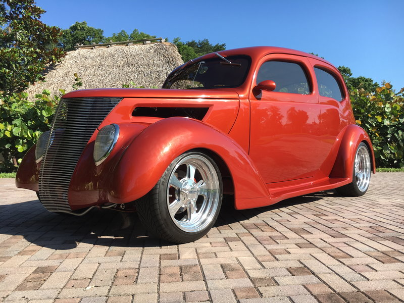 1937 ford 2 door sedan hotrod for sale in margate florida for 1937 ford 2 door sedan