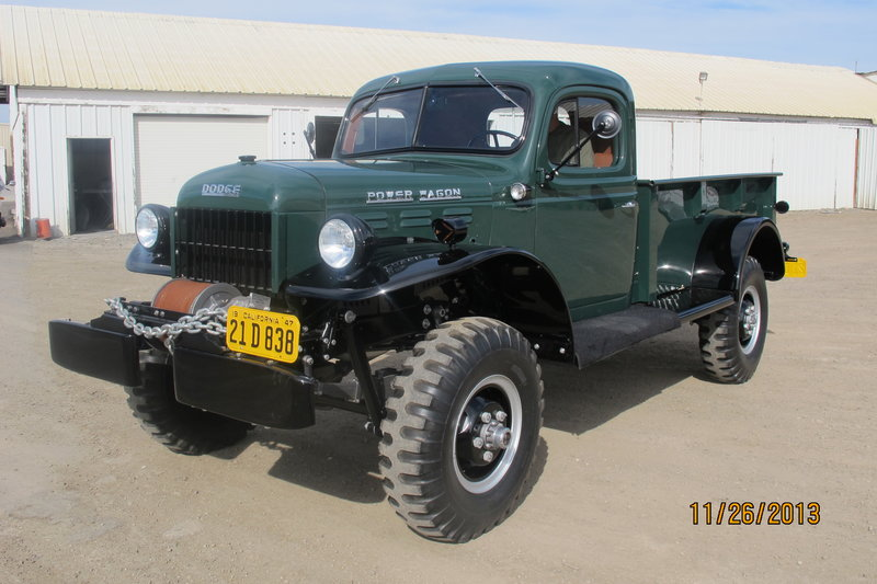 1947 dodge power wagon for sale in burbank california old car online. Black Bedroom Furniture Sets. Home Design Ideas