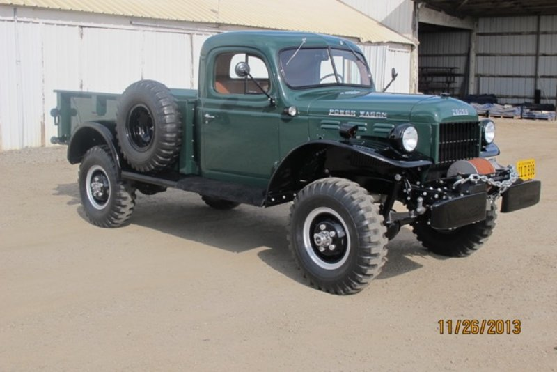 1947 dodge power wagon for sale in burbank california for Motorized wagon for sale
