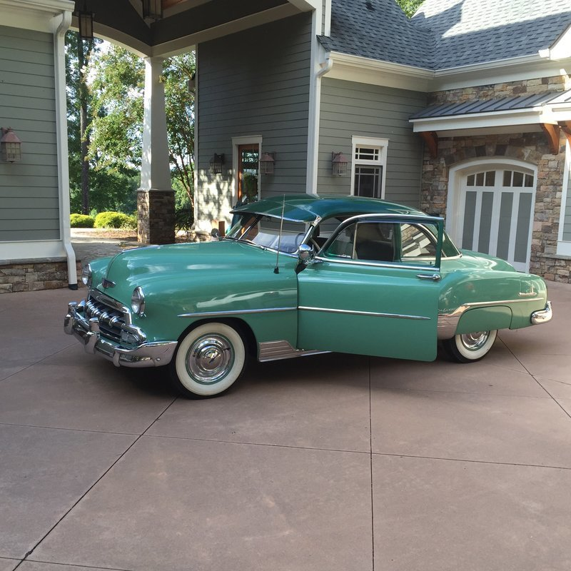 1952 chevrolet deluxe for sale in canton georgia old car online. Black Bedroom Furniture Sets. Home Design Ideas