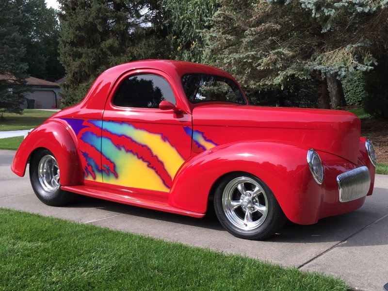 1941 willys 441 americar replica for sale in oxford michigan old car online. Black Bedroom Furniture Sets. Home Design Ideas