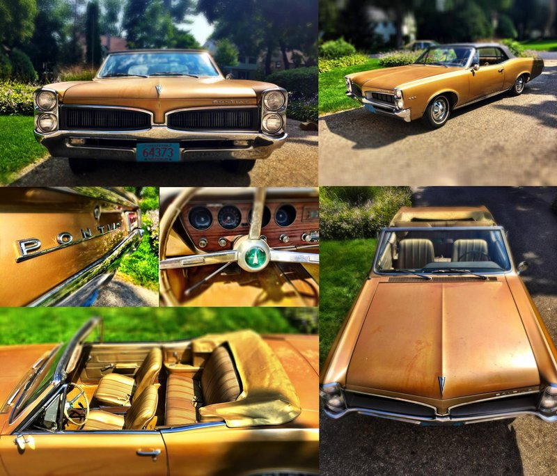 1967 pontiac lemans for sale in madison wisconsin old car online. Black Bedroom Furniture Sets. Home Design Ideas
