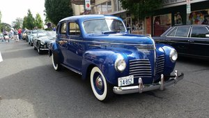 1940 Plymouth p10 Delux