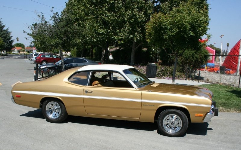 1973 plymouth gold duster for sale in san jose california old car online. Black Bedroom Furniture Sets. Home Design Ideas