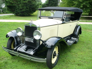 1929 Chevrolet touring convertible