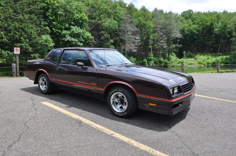 1985 chevrolet monte carlo ss for sale in ormond beach florida old car online. Black Bedroom Furniture Sets. Home Design Ideas