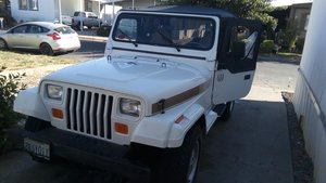 1988 Jeep Wrangler Olympic Edition