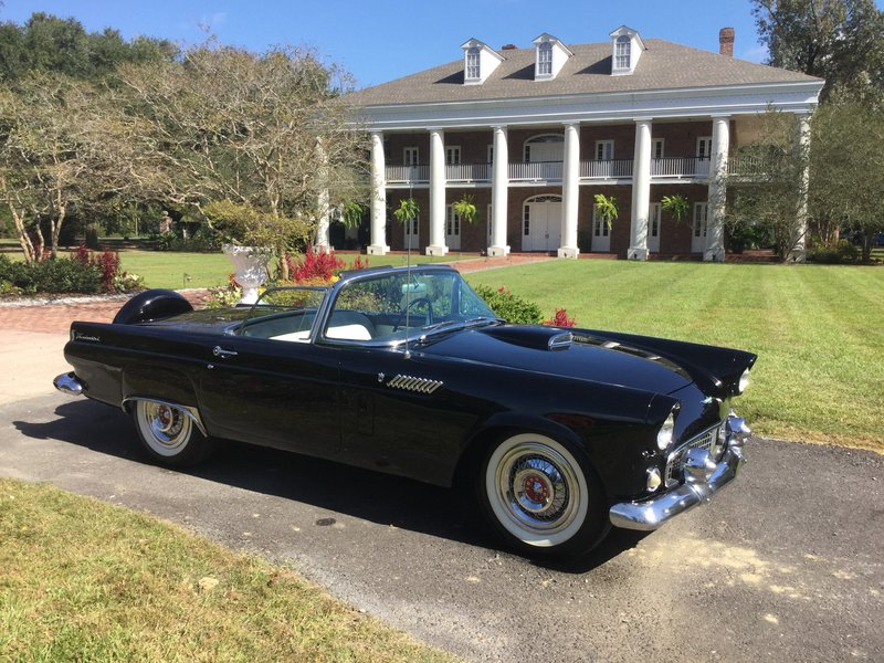 1956 ford thunderbird for sale in baton rouge louisiana old car online. Black Bedroom Furniture Sets. Home Design Ideas
