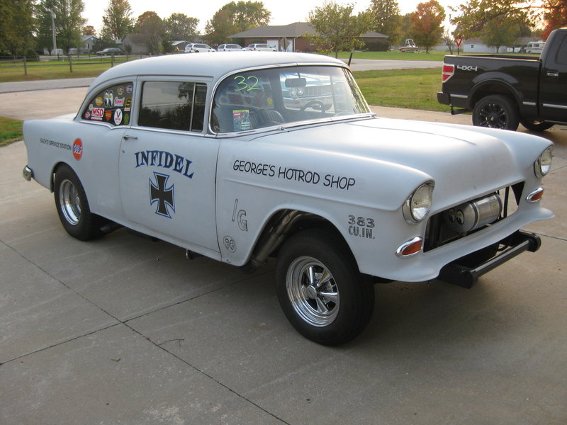 1955 chevrolet 210 gasser - Old Muscle Cars For Sale