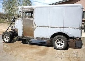 1947 Ford Milk Truck Hot Rod Project