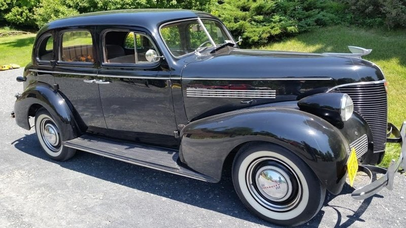 1939 chevrolet master deluxe 4 door sedan for sale in