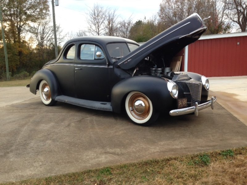 1940 Ford Deluxe Coupe For Sale In Anniston, Alabama