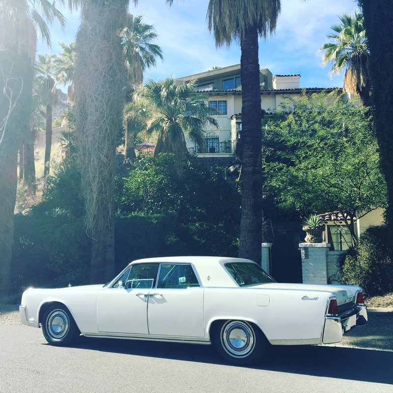 1964 lincoln continental for sale in palm springs for Palm springs for sale by owner