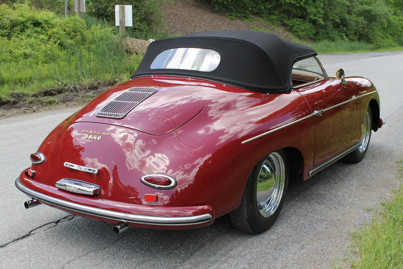1958 Porsche 356 Speedster For Sale In Charlotte North Carolina Old Car Online