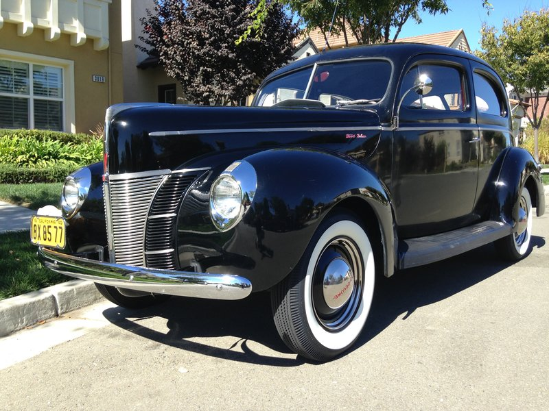 1940 ford deluxe 2 door sedan for sale in san ramon for 1940 ford deluxe two door business coupe