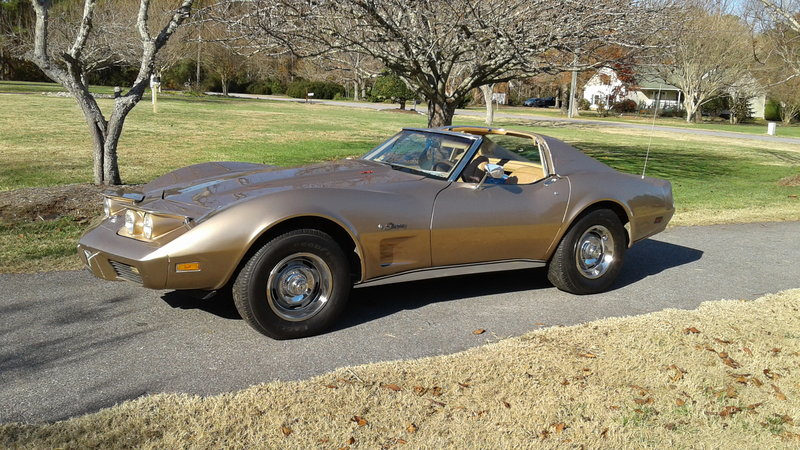 1976 chevrolet stingray corvette for sale in virginia beach virginia old car online. Black Bedroom Furniture Sets. Home Design Ideas