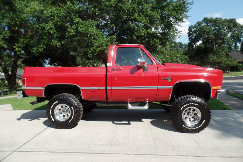 1987 chevrolet 4x4 square body for sale in houston texas old car online. Black Bedroom Furniture Sets. Home Design Ideas
