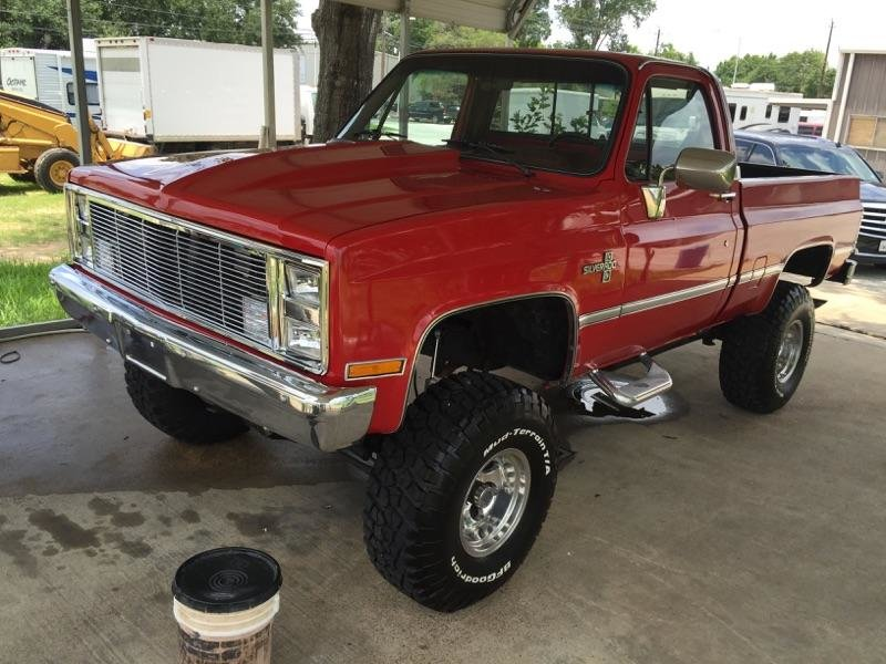 square body chevy lifted for sale autos post. Black Bedroom Furniture Sets. Home Design Ideas