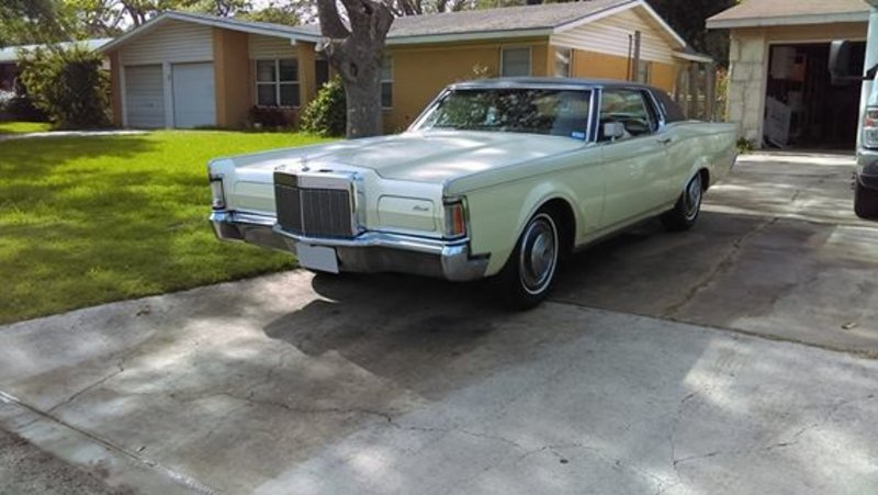 1970 lincoln continental mark iii for sale in san antonio texas old car online. Black Bedroom Furniture Sets. Home Design Ideas