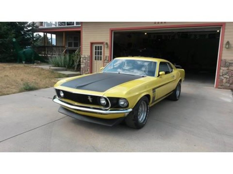 1969 ford boss 302 mustang for sale in estes park. Black Bedroom Furniture Sets. Home Design Ideas