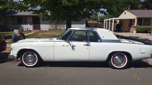 1963 Studebaker Hawk Grand Terismo