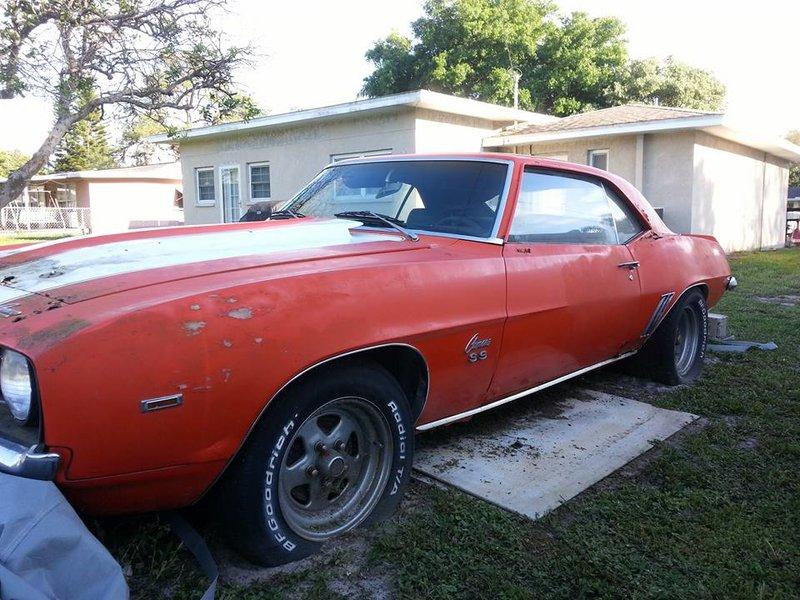 1969 Chevrolet Camaro For Sale In Clearwater Florida