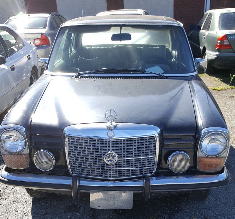 1973 mercedes benz 200 w115 for sale in wilmington for Mercedes benz of wilmington delaware