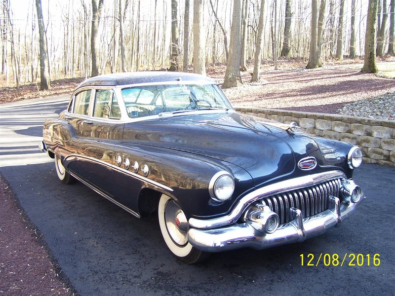 1952 buick roadmaster for sale in phillpsburg new jersey. Black Bedroom Furniture Sets. Home Design Ideas