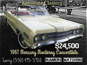 1967 Mercury Moonterey