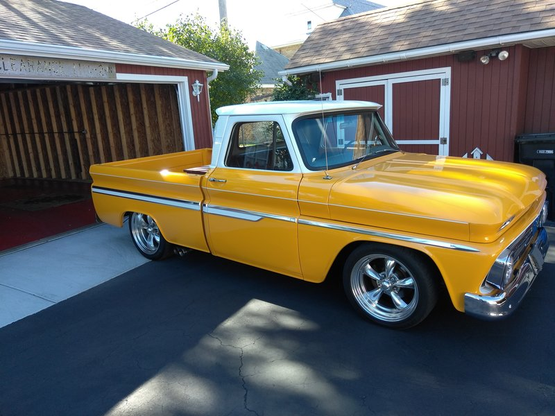 1964 chevrolet c10 for sale in chicago illinois old car online. Black Bedroom Furniture Sets. Home Design Ideas
