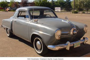1950 Studebaker Starlight Coupe