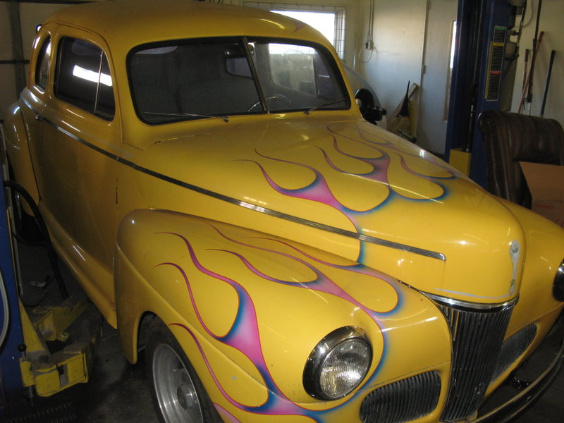 1941 ford coupe for sale in springfield missouri old car online. Black Bedroom Furniture Sets. Home Design Ideas