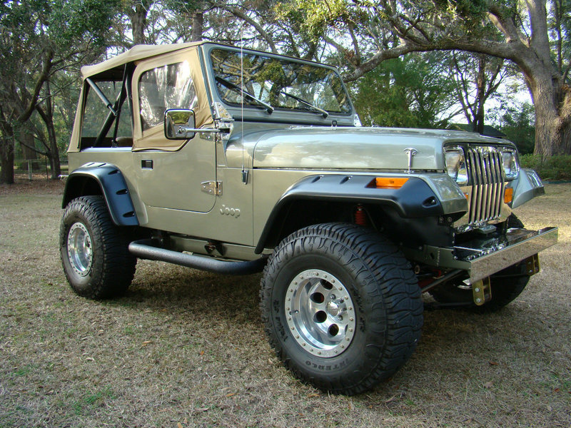 1988 jeep wrangler yj for sale in dallas texas old car online. Black Bedroom Furniture Sets. Home Design Ideas