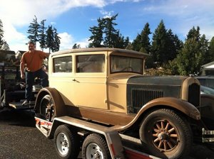 1927 Reo Flying Cloud Brougham