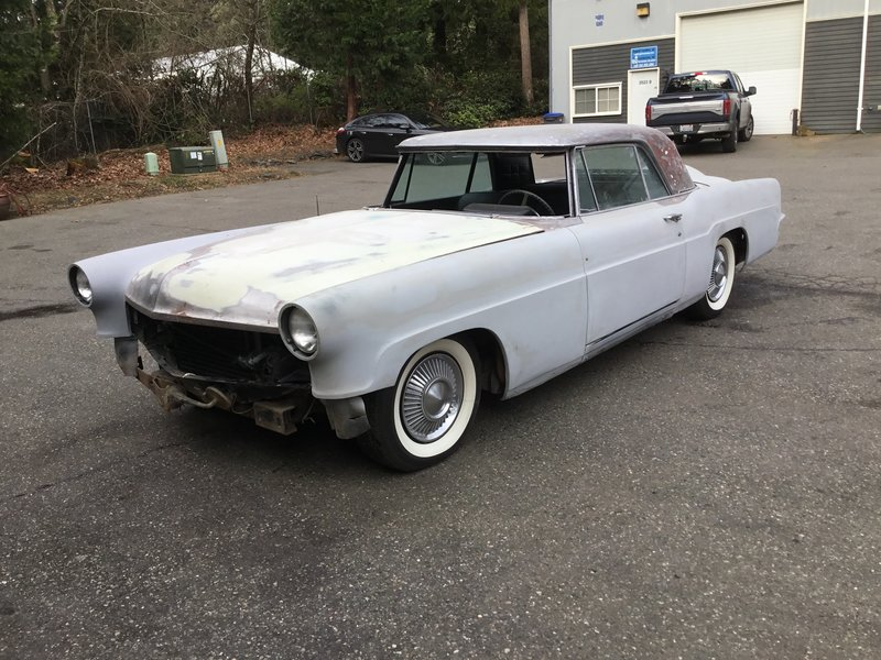 1956 lincoln continental mk ii for sale in gig harbor. Black Bedroom Furniture Sets. Home Design Ideas