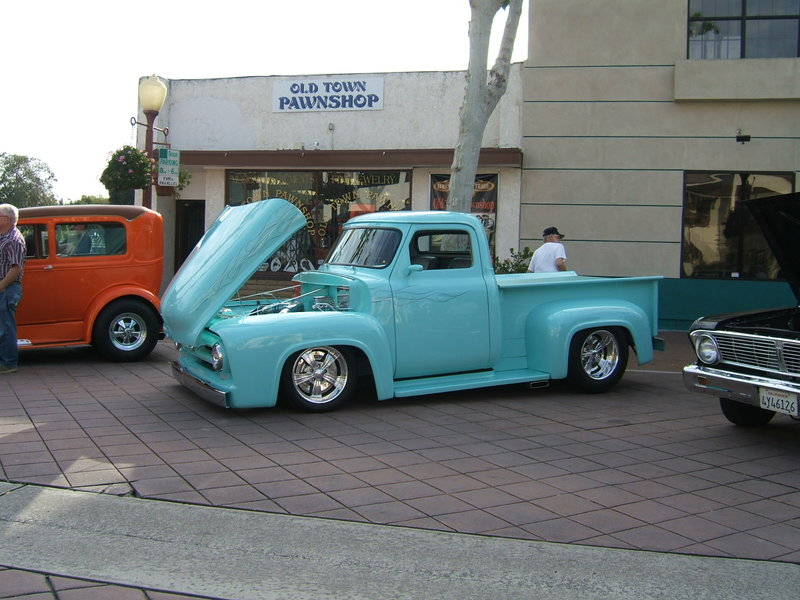 1953 ford f 100 for sale in whittier california old car online. Black Bedroom Furniture Sets. Home Design Ideas