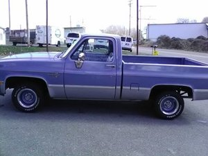 1986 Chevrolet Silverado Short Bed