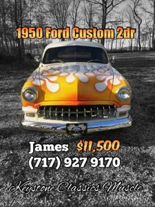 1950 Ford Custom 2Dr Sedan