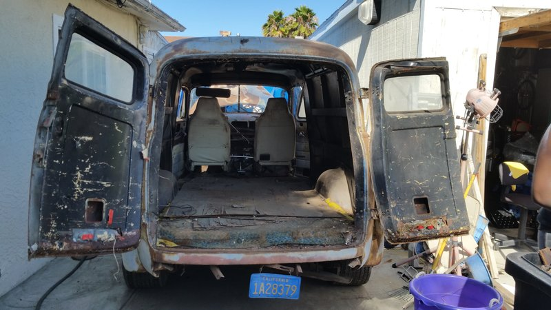 1947 Chevrolet Early delivery panel truck For Sale in San ...