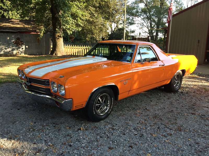 1970 chevrolet el camino ss for sale in monroe louisiana old car online. Black Bedroom Furniture Sets. Home Design Ideas