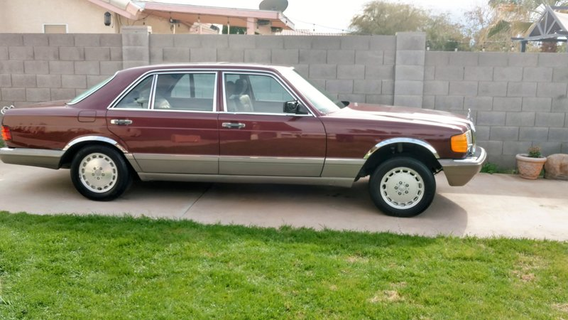 1986 mercedes benz 420 sel for sale in peoria arizona for 1986 mercedes benz 420 sel