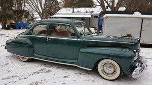 1947 Lincoln Zephyr Coupe