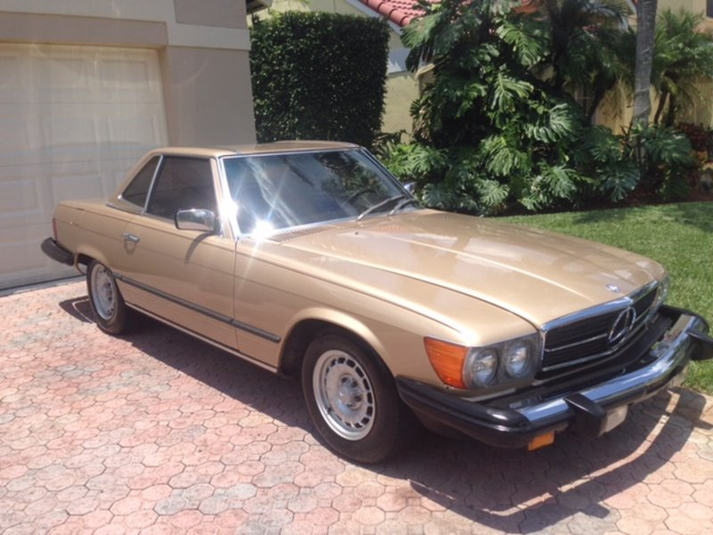 1981 mercedes benz 380 sl for sale in miami florida for Mercedes benz for sale in miami
