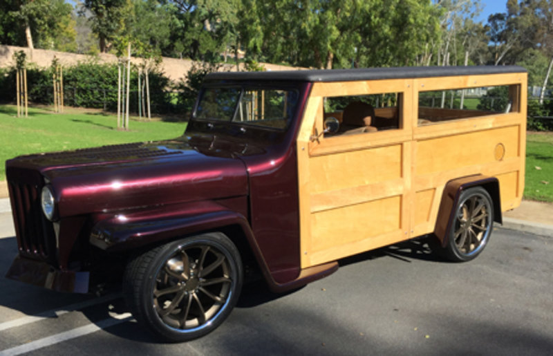 1951 Willys Station Wagon For Sale In Lake Forest