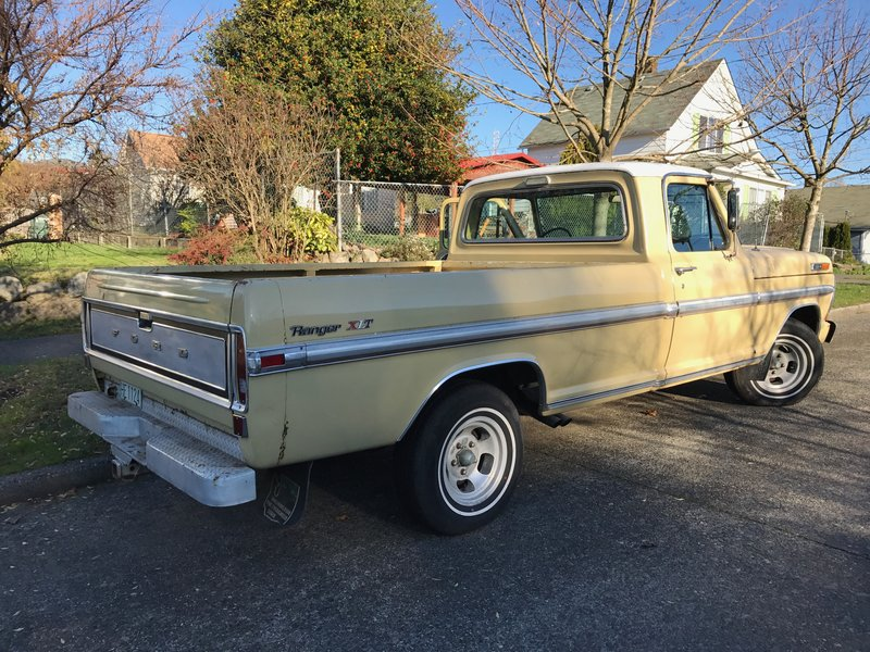 1970 ford f 100 ranger xlt for sale in seattle washington car