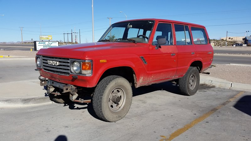 1985 toyota fj60 land cruiser for sale in albuquerque new mexico old car online. Black Bedroom Furniture Sets. Home Design Ideas