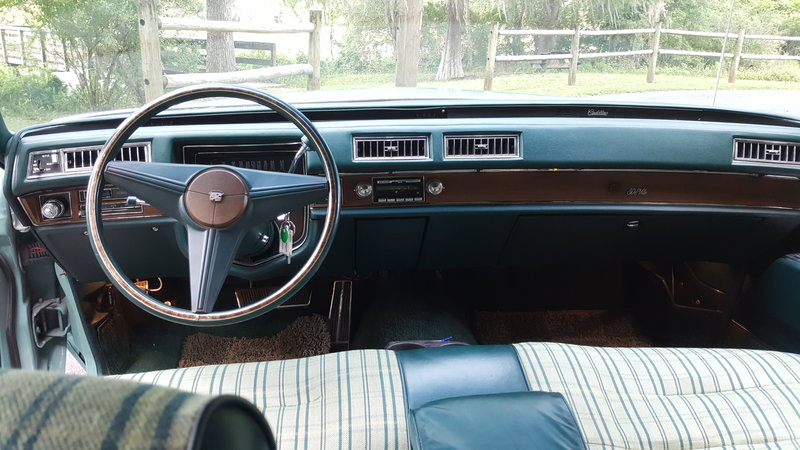 1975 cadillac deville for sale in tallahassee florida old car online. Black Bedroom Furniture Sets. Home Design Ideas