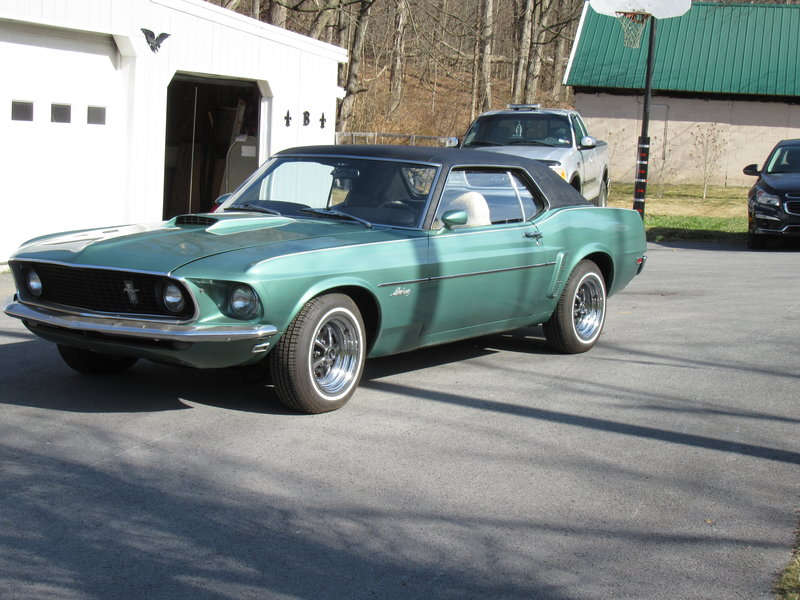1969 ford mustang for sale in lewistown pennsylvania old car online. Black Bedroom Furniture Sets. Home Design Ideas