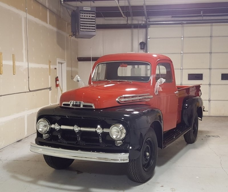 1951 ford f3 deluxe