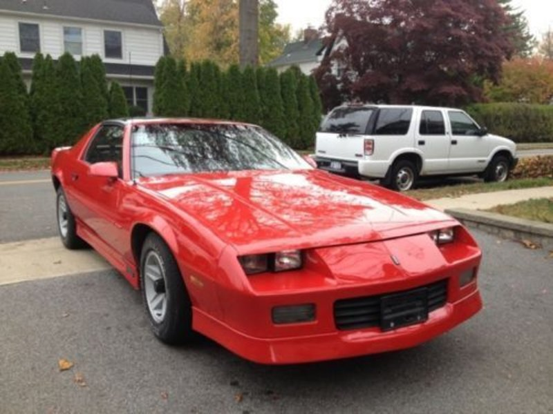 1989 chevrolet camaro for sale in san jose california old car online. Black Bedroom Furniture Sets. Home Design Ideas